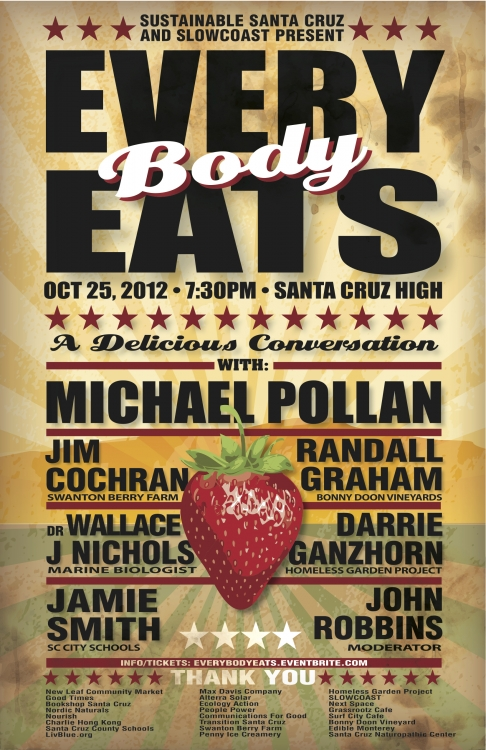 Every Body Eats Poster