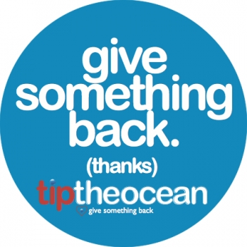 Tip The Ocean sticker